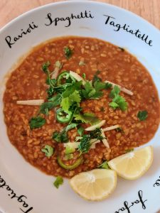 Daal cooked Pakistani style by Wise Women Recipes blog